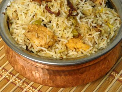 Chicken Biryani Bombay Grill