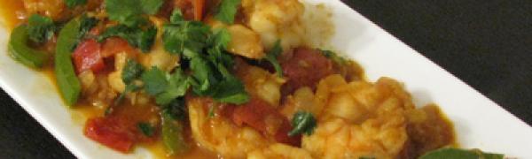 Shrimp Bhuna