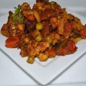 Vegetable Jalfreezi
